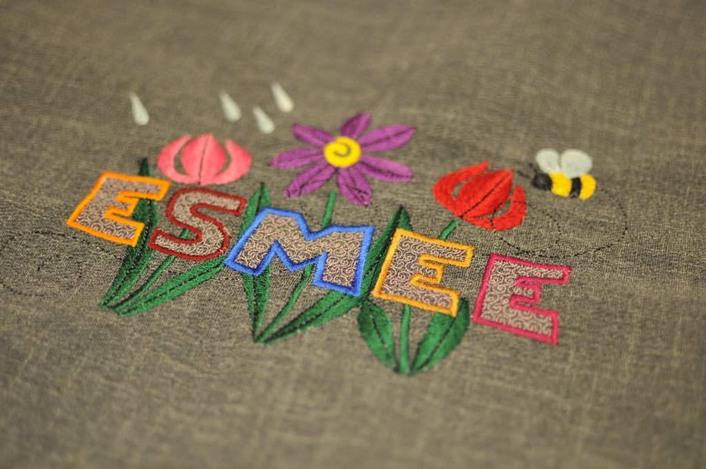 Esmee embroidery